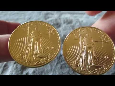 Gold American Eagle Halfway To 20 oz