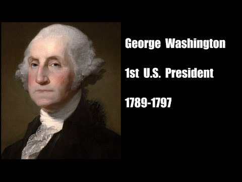 List of United States Presidents With Pictures in Chronological Order!!! Audio Visual Flash Card!