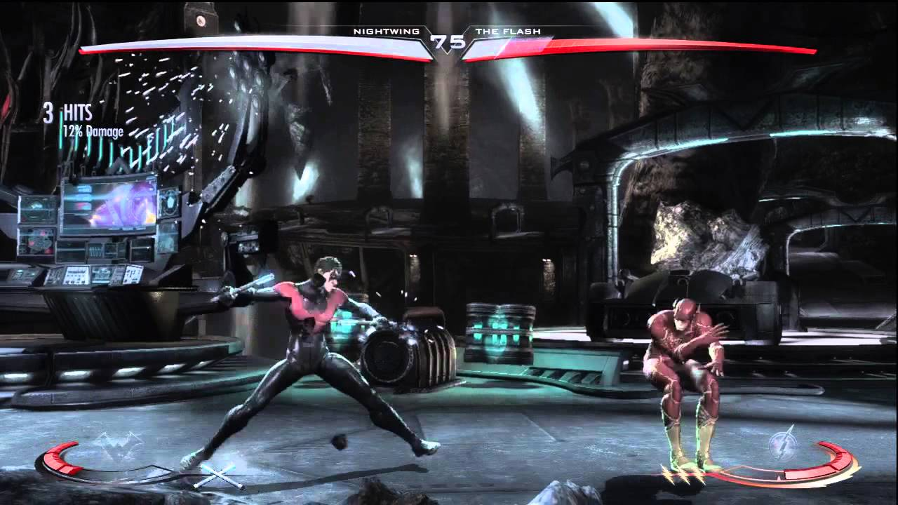 Injustice Gods Among Us: Nightwing (New 52) vs. The Flash ...