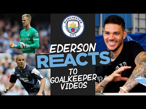 EDERSON REACTS!  |  Ederson reacts to the iconic moments of the Manchester City goalkeeper!