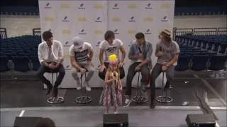 Cutest moments with fans - One Direction