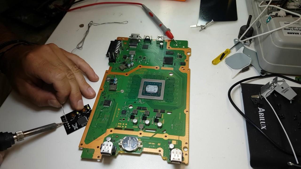 Ps4 Mtx Key Chip Install On Playstation 4 Slim