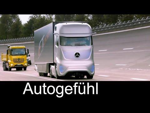 Mercedes Future Truck 2025 autonomously driving truck premiere – Autogefühl