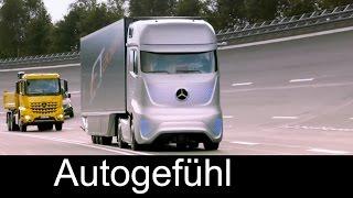 Mercedes Future Truck 2025 autonomously driving truck premiere - Autogefühl thumbnail