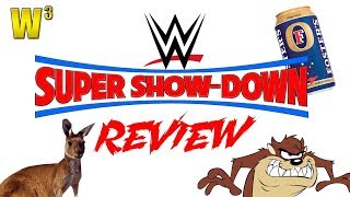 WWE Super Showdown Review | Wrestling With Wregret