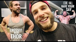 CROSSFIT with THOR // Eddie Hall Clean and Jerk Potential!?