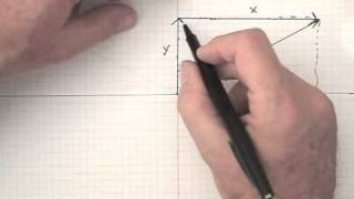 This short tutorial shows how to find the x and y components of a v...