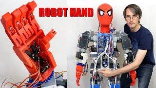 Iron Spiderman Robot #6, Robot Hand | XRobots