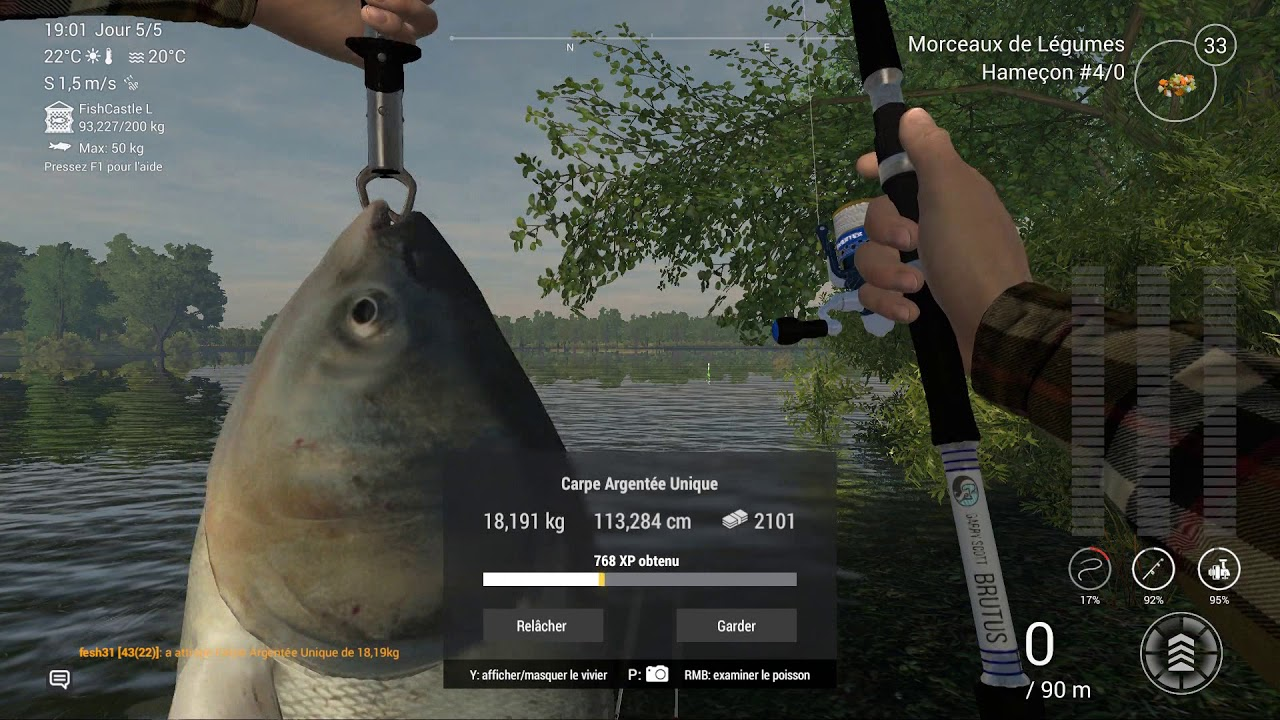 Fishing Planet Europe LakeSander Spot Unique and Trophy Silver and Marbled  CARP