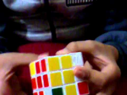 How to solve a robick cube