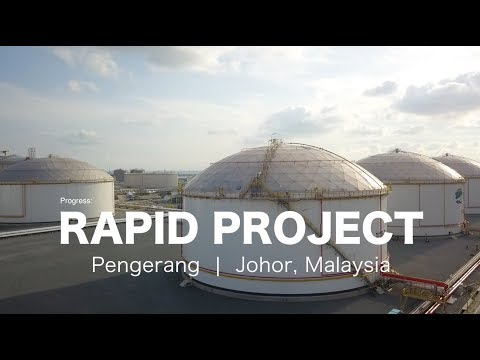 Biggest Oil & Gas Project: The RAPID Pengerang, Johor - progress as 20 April 2018