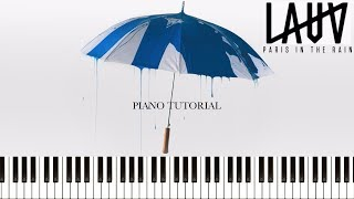 Download Lagu Lauv - Paris In The Rain (Piano Tutorial & Sheets) Mp3