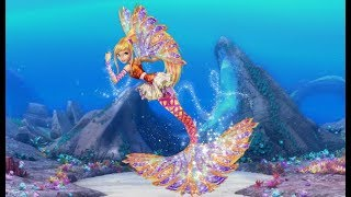 Winx Club: Sirenix Mermaid - Stella - Speedpaint/Speededit