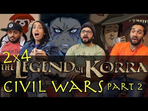 The Legend of Korra - 2x4 Civil Wars Part 2 - Group Reaction