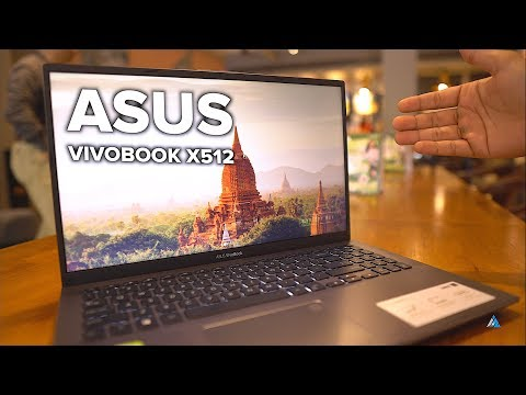 ASUS Vivobook 15 X512FL REVIEW and UNBOXING [GAMING, HEATING ETC.]
