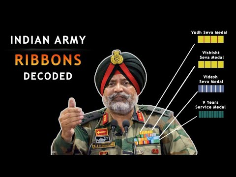 Decoding Ribbons In Military Uniform