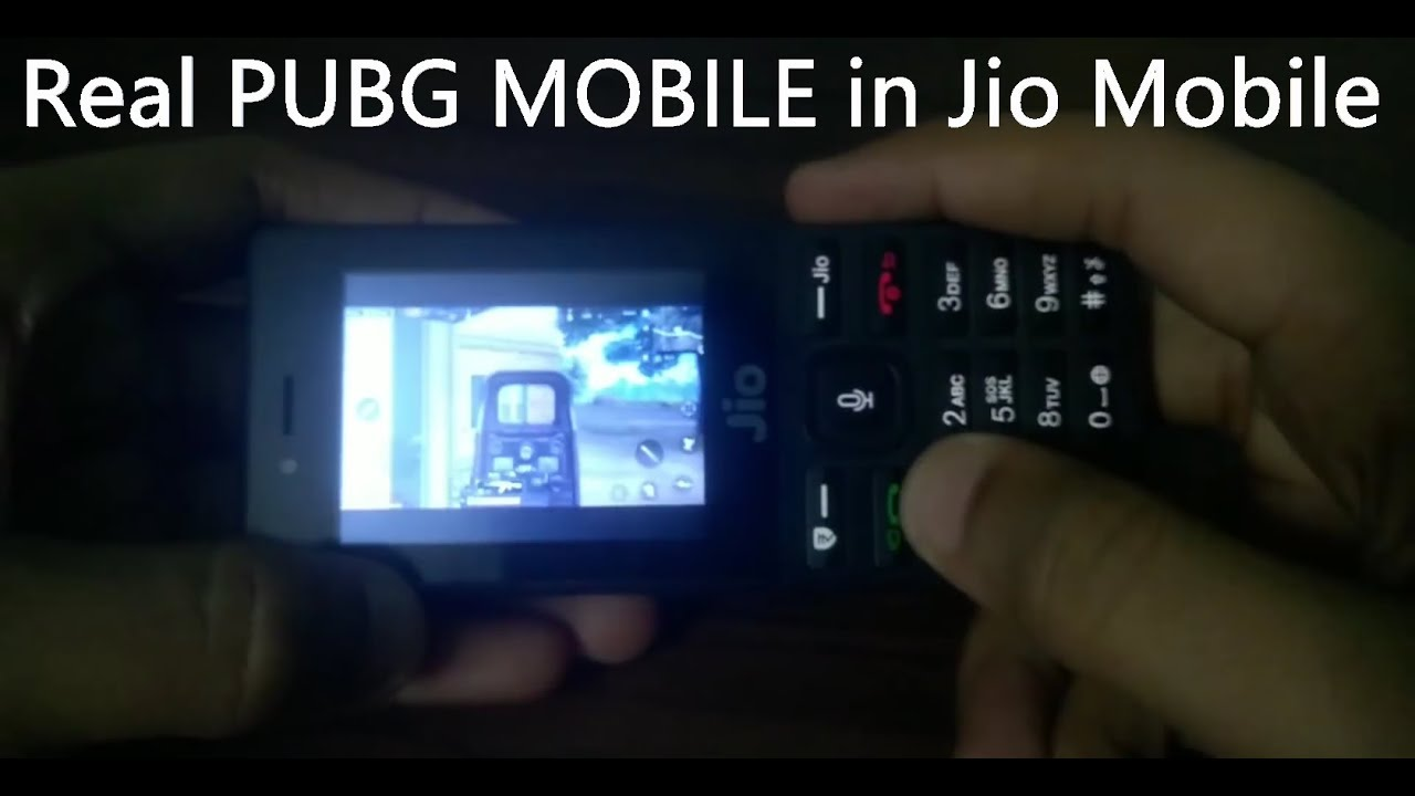 Play PUBG Mobile in Jio Phone ...