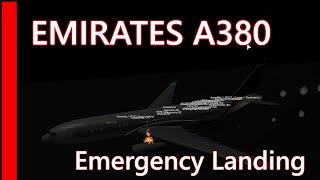 [Roblox] Emirates Flight A380 (Emergency landing)