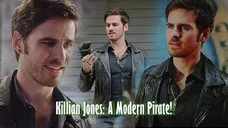 Killian Jones: A Modern Pirate! {HUMOR}