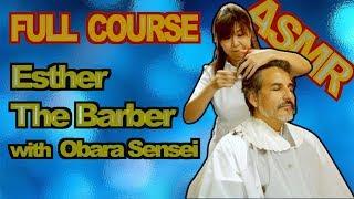 Esther - The Barber [Japanese ASMR]