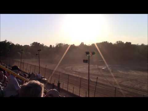 Butler Motor Speedway Street Stock Heat #2 6/25/16