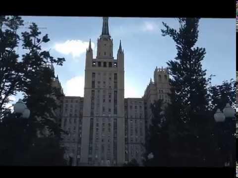 Kudrinskaya sqare high-riser, Moscow-Высотка на Кудринской площади, Москва