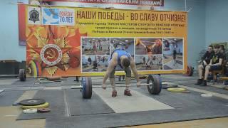 Сергей Сахаров толчок 165 кг, в.к. до 94 кг