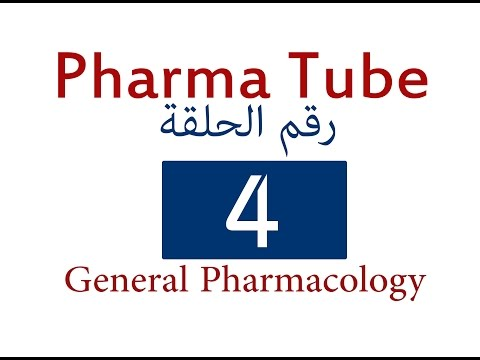 Pharma Tube - 4 - General Pharmacology - 4 - Pharmacodynamics [HD]