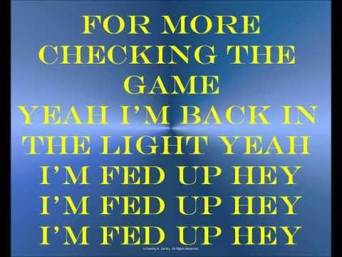 DJ Khaled - Fed Up Lyrics