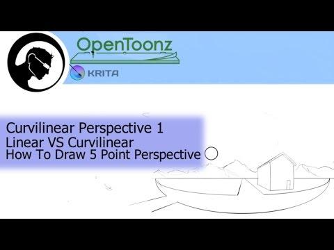 Curvilinear (Fisheye) Perspective 1: Linear VS Curvilinear