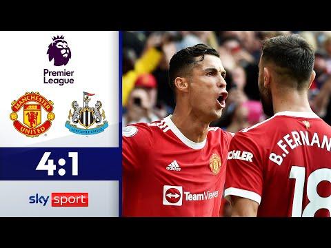CR7 ist zurück und wie! | Manchester United - Newcastle 4:1 | Highlights - Premier League 2021/22
