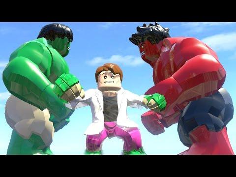 Lego Marvel Super Heroes Hulk vs Red Hulk Smash Lego Spiderman Lego ...