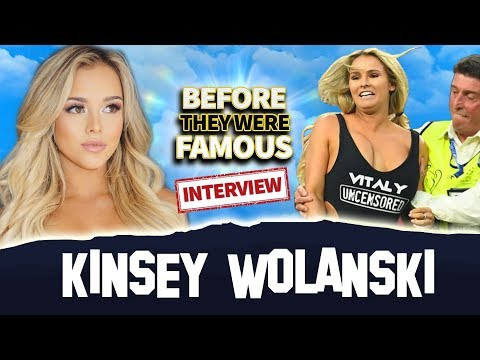 Kinsey Wolanski | Before They Were Famous | Champions League Streaker