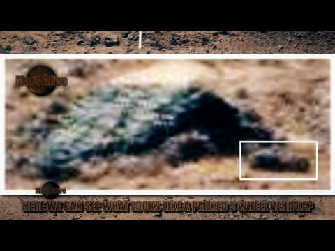 3 Wheel Vehicle Parked on Mars?
