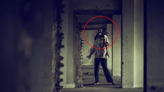 Real Ghost Caught on Camera! Humanoid filmed from a haunted House