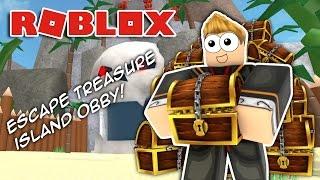 ESCAPE TREASURE ISLAND!! Obby Roblox