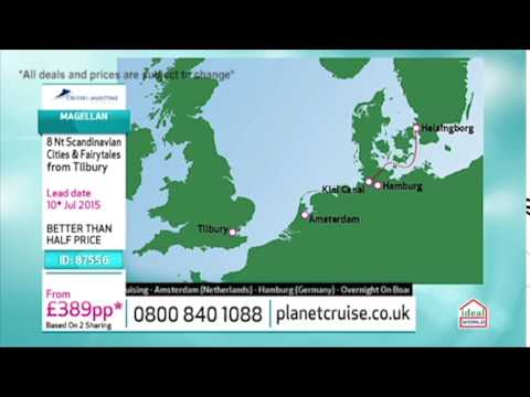 Cruise & Maritime To Scandinavia | Planet Cruise TV Show 02/06/15