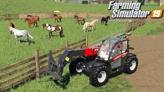 Większy padok dla koni - Farming Simulator 19 | #121