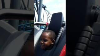 Me and my 7 year old at 6 flags over Ga.