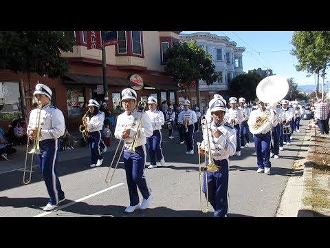 KIPP San Francisco College Preparatory Band @ Italian Heritage Parade 2018 San Francisco California