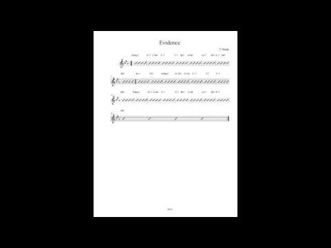 Jazz Play Along - Evidence