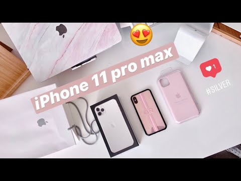 Why I Chose IPhone 11 PRO Silver Instead Of An IPhone 11 & Small Unboxing :)