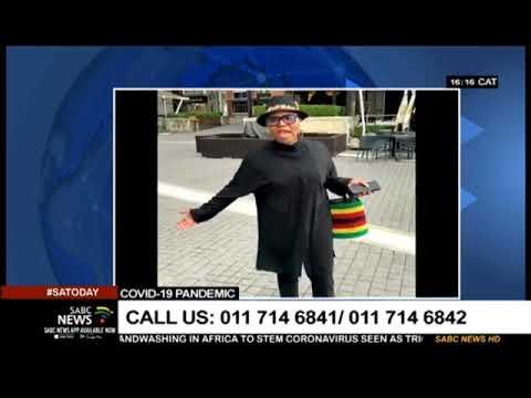 Reaction to Minister Lindiwe Zulu coronavirus clip