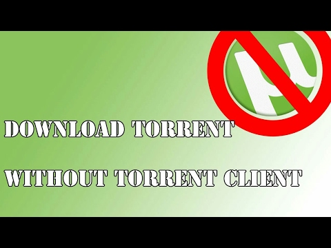 5 ways to download torrents if you can't install and run a torrent.
