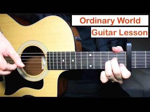 Green Day - Ordinary World | Guitar Lesson (Tutorial) How to play ...
