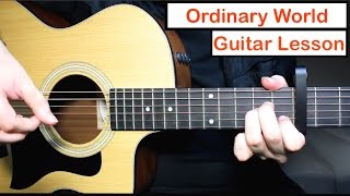 Green Day Ordinary World Guitar Lesson How to play Chords