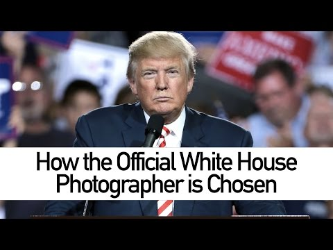 How the Official White House Photographer Is Chosen - YouTube