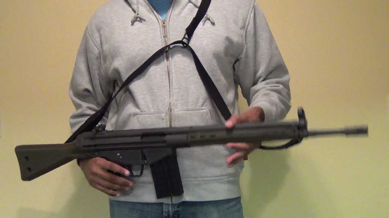maxresdefault awesome hk style 3 point sling for any rifle! youtube