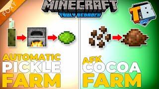FULLY AUTOMATIC SEA PICKLE FARM | Truly Bedrock Season 2 [66] | Minecraft Bedrock Edition