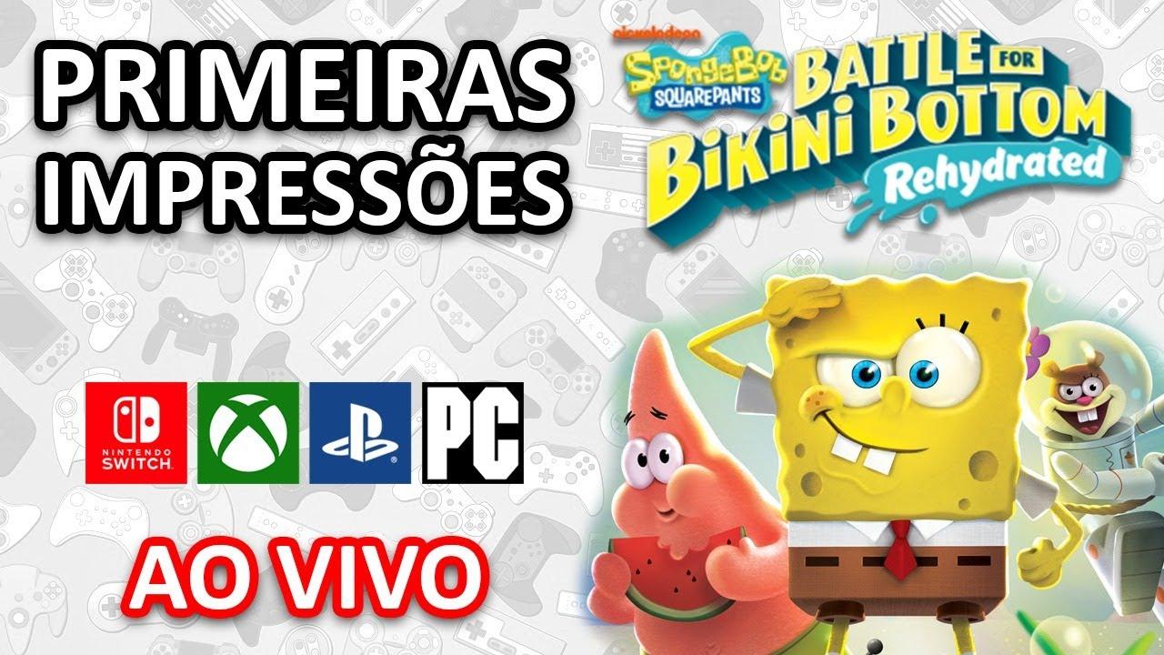 Conhecendo o jogo do Bob Esponja! - SpongeBob SquarePants: Battle for Bikini Bottom
